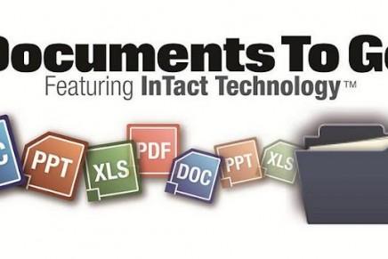 Documents to go: App para ver los documentos de Microsoft Excel, Word, y Power Point en nuestra tablet